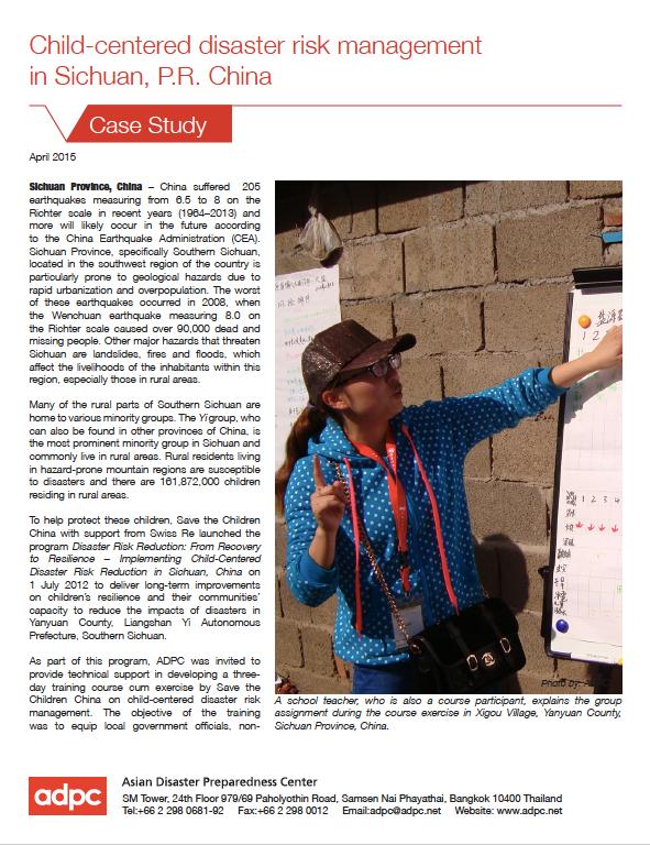 case study child development project
