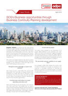 ADPC: SCG's Business opportunities through <br>Business