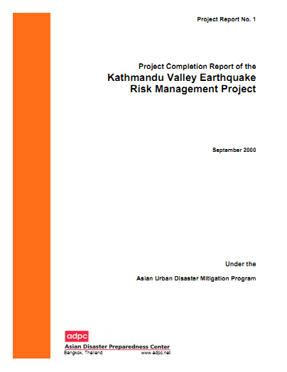 Adpc Project Completion Report Of Br The Kathmandu Valley
